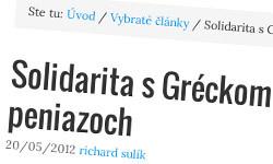 Eurozóna, Grécko a pôžička