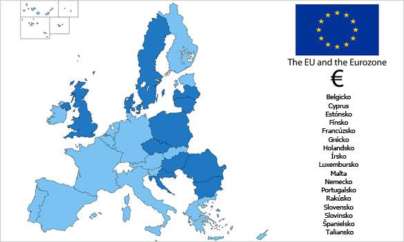 Eurozóna – členské krajiny