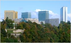 Inštitúcie EÚ - Európsky parlament v Luxemburgu
