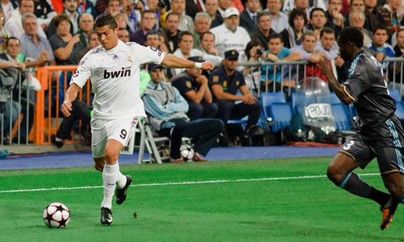 Cristiano Ronaldo kolaterál ECB