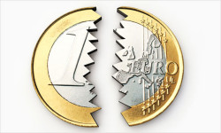 EÚ | Bývalý eurokomisár volá po rozpade eura