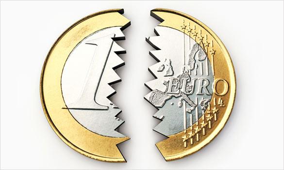 Eurokomisár EÚ - rozpad eura