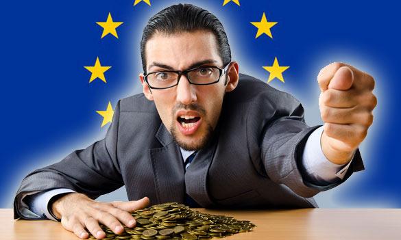 Rozpočet EÚ azákerné vydieranie