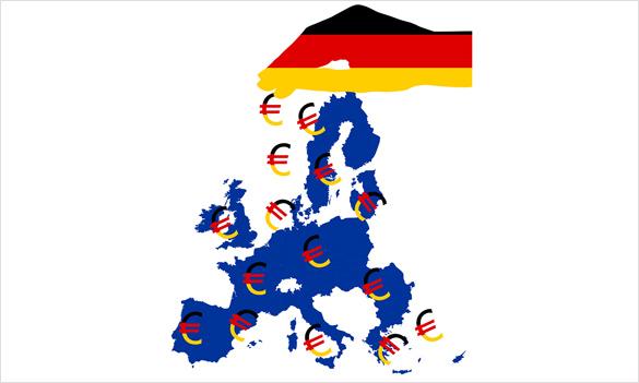 Pôžičky poskytnuté Nemeckom pre krajiny EÚ