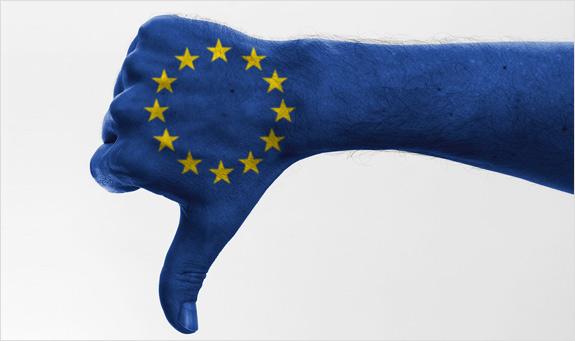 Eurobarometer - Nedôvera v EÚ