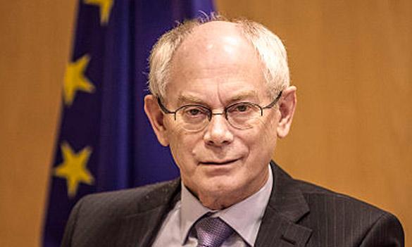 Prezident EÚ Herman Van Rompuy