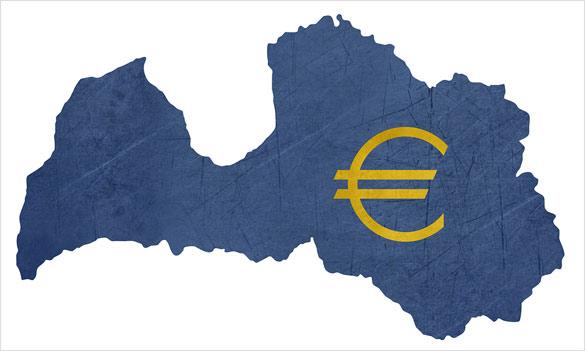 Lotyšsko prijalo euro