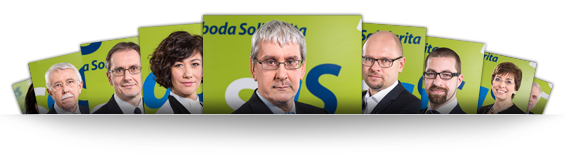 Kandidáti na europoslancov 2014 za SaS