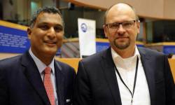 Predseda skupiny Európskych konzervatívcov a reformistov - Syed Kamall