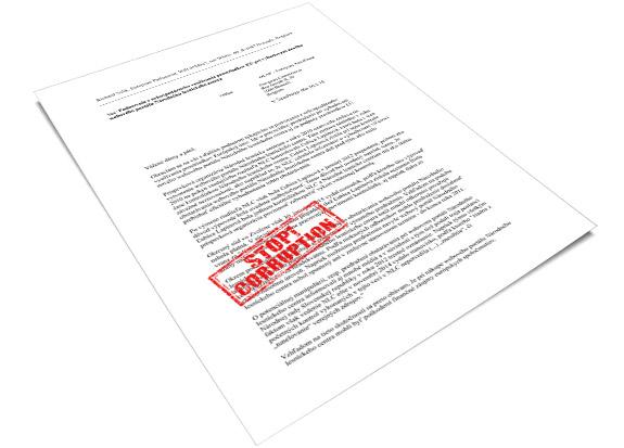 Webový portál Národného lesníckeho centra - podvod