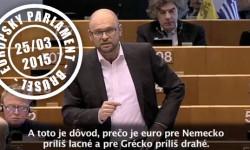 Obnova a odolnosť menovej únie - Richard Sulík