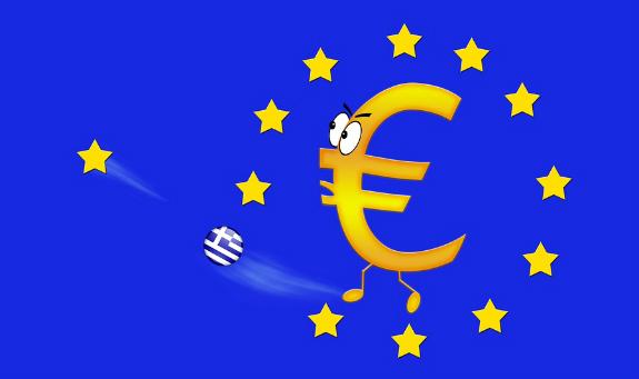 Rozpad eurozóny a Grécko