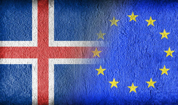Vstup do EÚ a Island