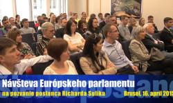 Európsky parlament Brusel - návštevníci