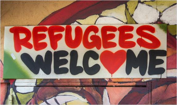 Utečenci v Nemecku a Merkelová