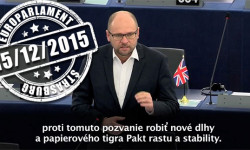 Dobudovanie hospodárskej a menovej únie v Európe | Europarlament – Richard Sulík