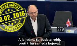Richard Sulík: Pán Juncker proti trhu bojovať nemôžete! | Europarlament