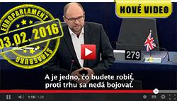 Sulík, Juncker - europarlament