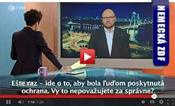 Utečenecká politika EÚ - Sulík pre ZDF
