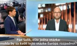 Utečenecká politika Nemecka - Sulík pre Deutsche Welle