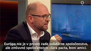 Európa je zmluvné spoločenstvo - Sulík