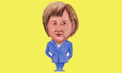 Nemecká kancelárka Angela Merkelová a voľby