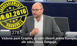 Slovenské predsedníctvo vRade EÚ 2016 ajeho priority | Richard Sulík v Štrasburgu