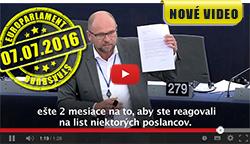 Richard Sulík vEuroparlamente - Vylúčenie konkurencie