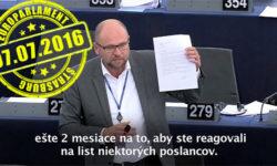 Vylúčenie konkurencie - Richard Sulík vEuroparlamente