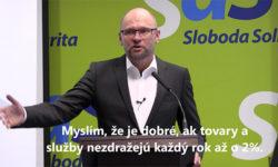 Konferencia opolitike Európskej centrálnej banky - Richard Sulík