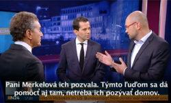 Utečenci vEurópe - Richard Sulík vnemeckej televízii N24