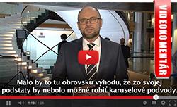 Systém DPH - Europarlament, Richard Sulík