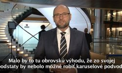 Systém DPH - Europarlament, Sulík