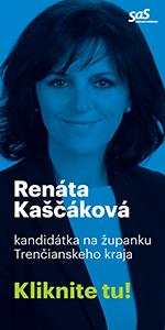 Kandidát na župana voľby do VÚC 2017 Trenčín Renáta Kaščáková